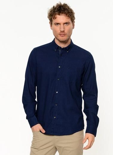 Wrangler Uzun Kollu Gömlek İndigo